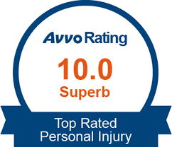 Avvo top rated personal injury lawyer